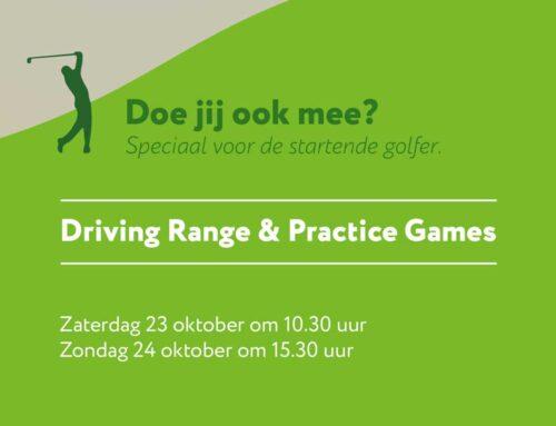 Golf event speciaal voor de beginnende golfer!